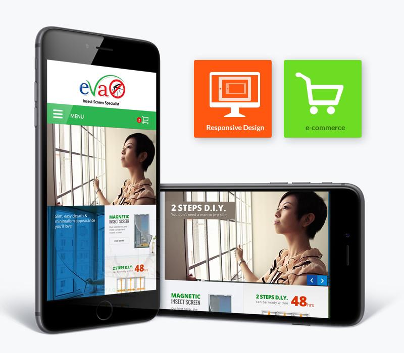 responsive website design on apple iphone