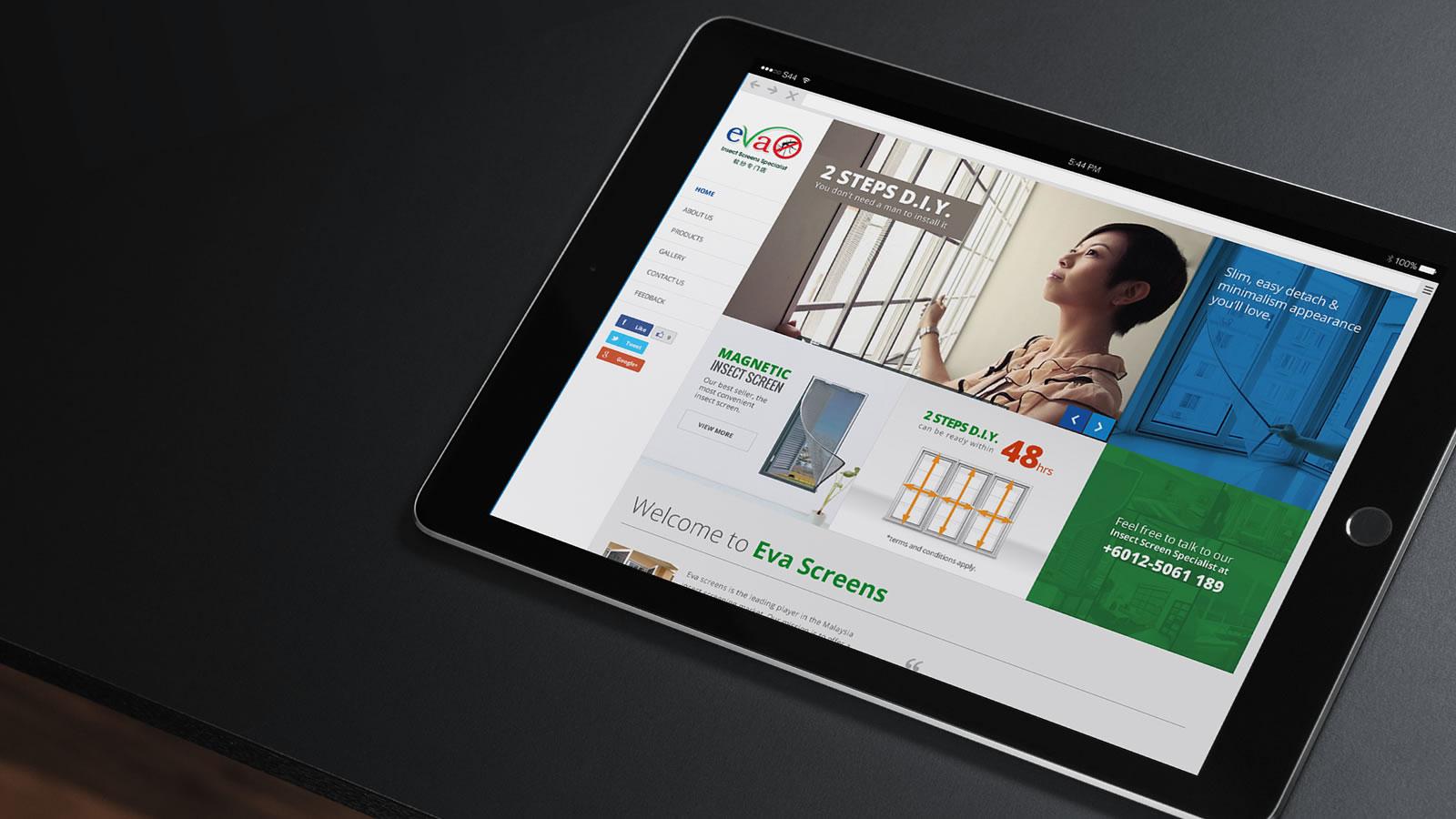 website design jonath lee with iosc