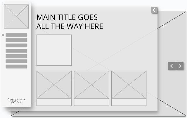 website layout wireframe 2