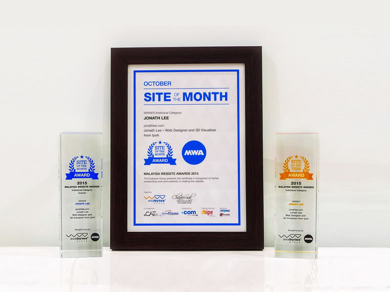 Winner of Malaysia Website Awards 2015