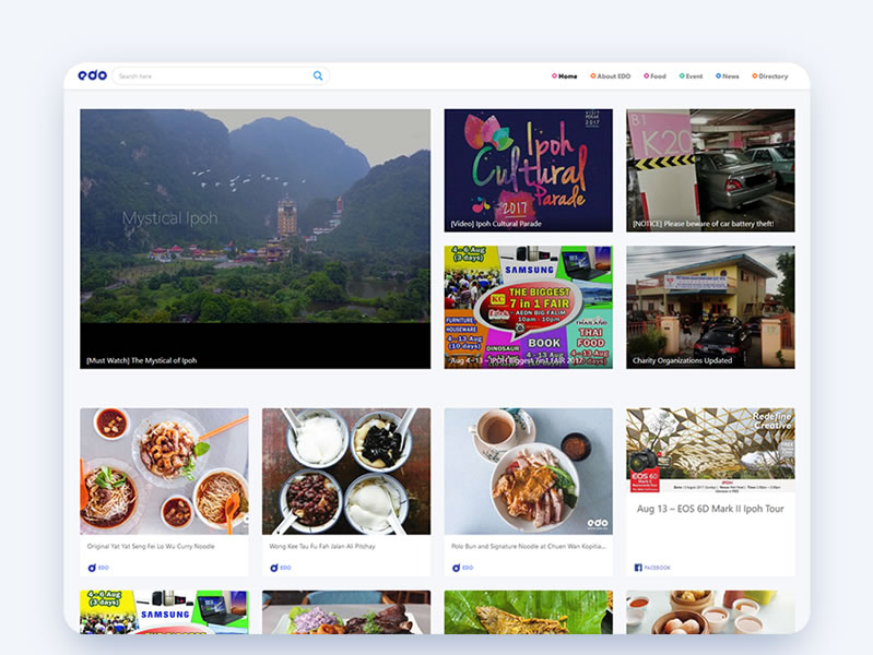 ipoh food directory, ipoh foods, ipoh food hunt