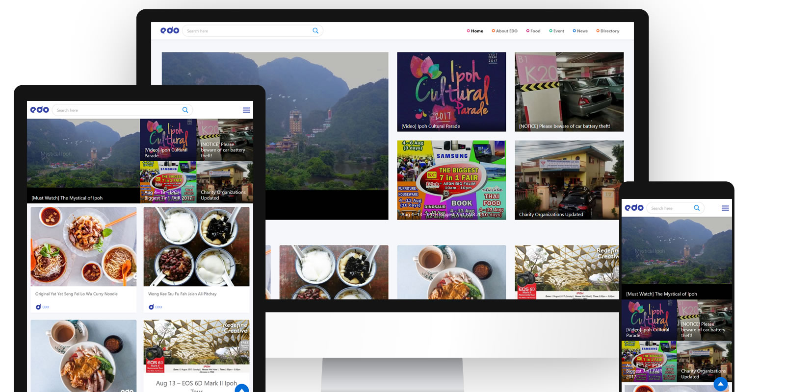 ipoh food directory, wordpress directory theme