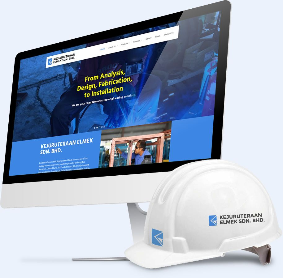 Engineering website design Malaysia