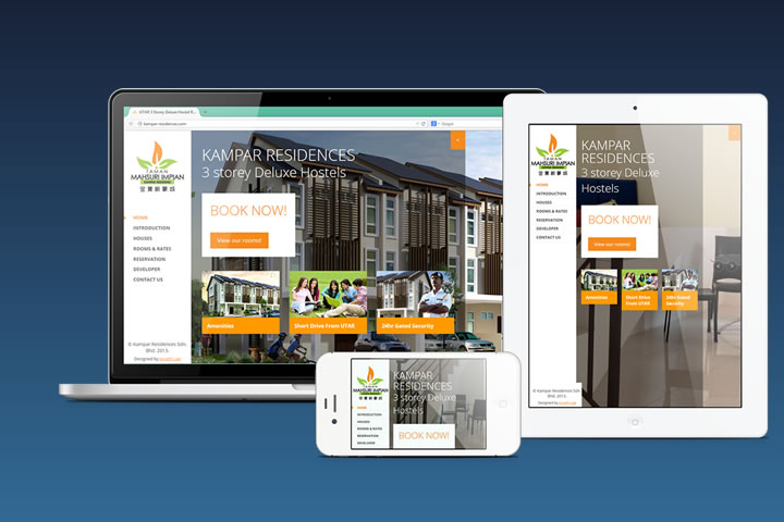 Kampar Residences Website