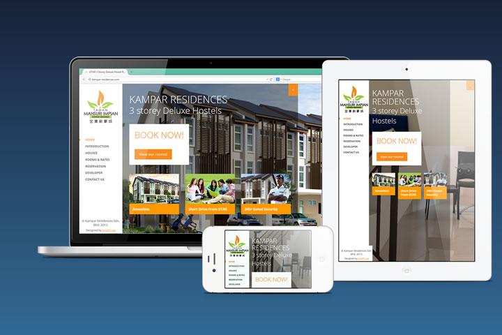 Kampar Residences Website