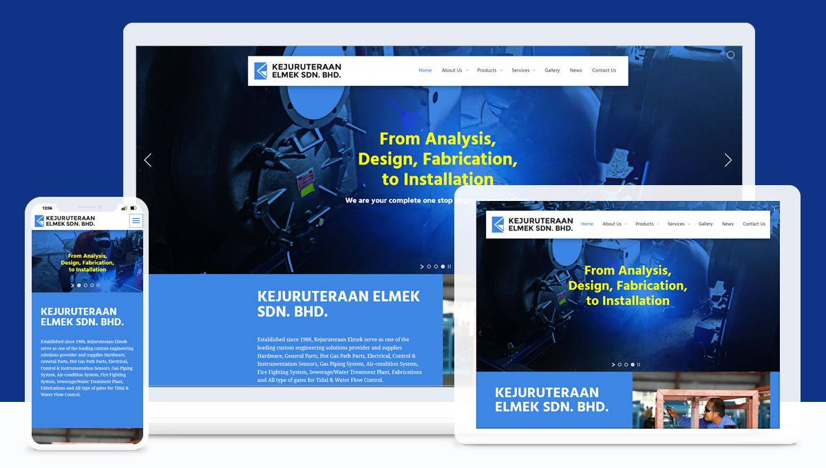 kejuruteraan Elmek Website