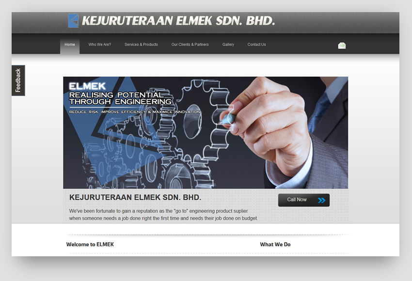 kjelmek old website