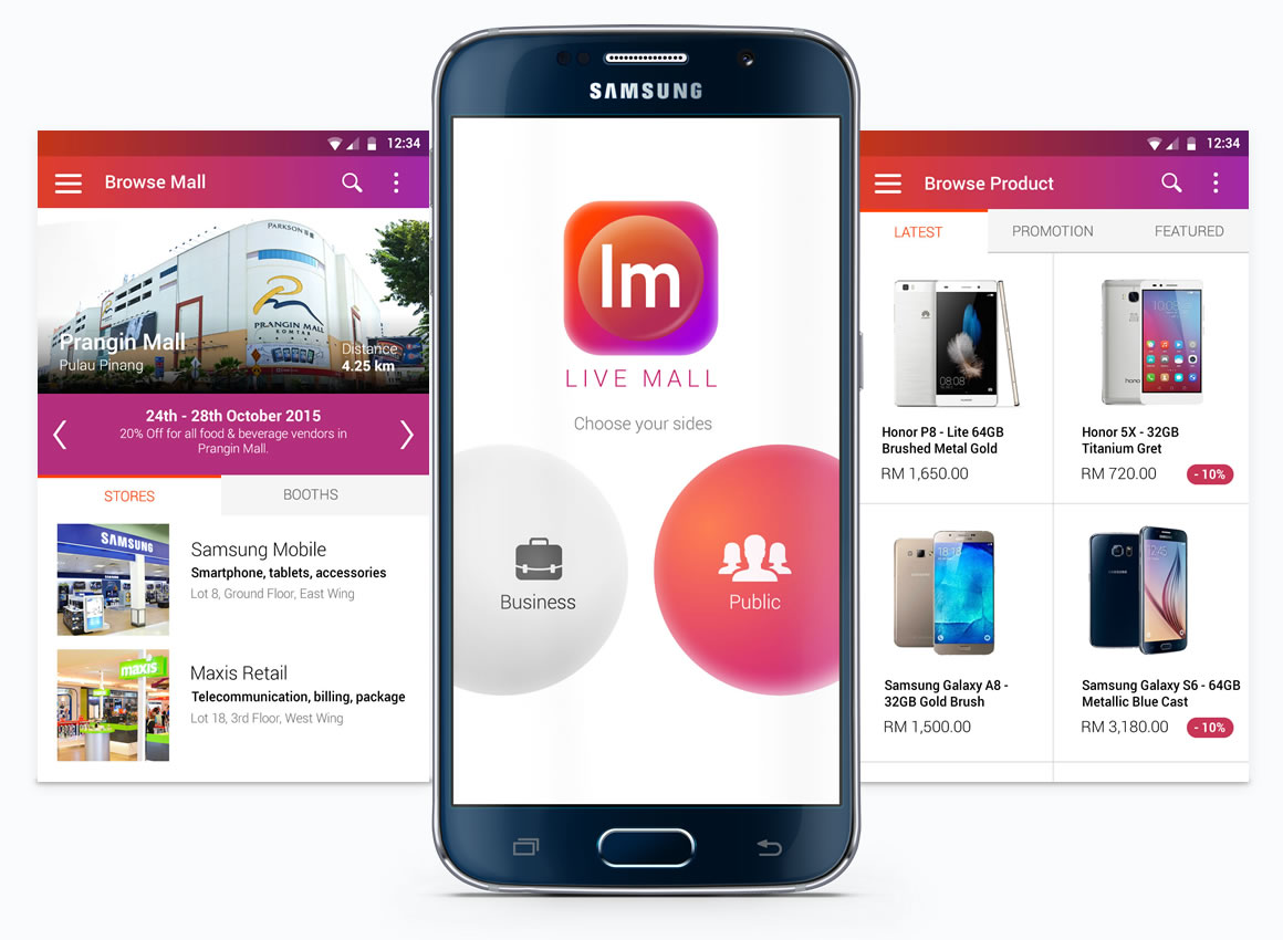android user interface design Malaysia