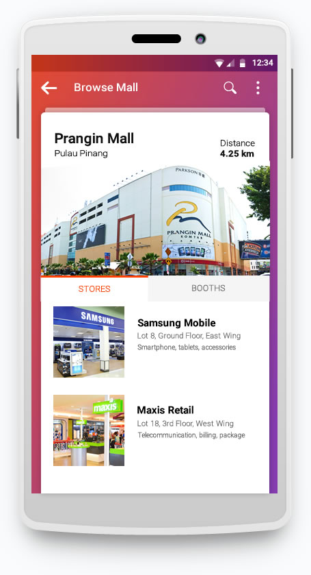 livemall shopping mall browse
