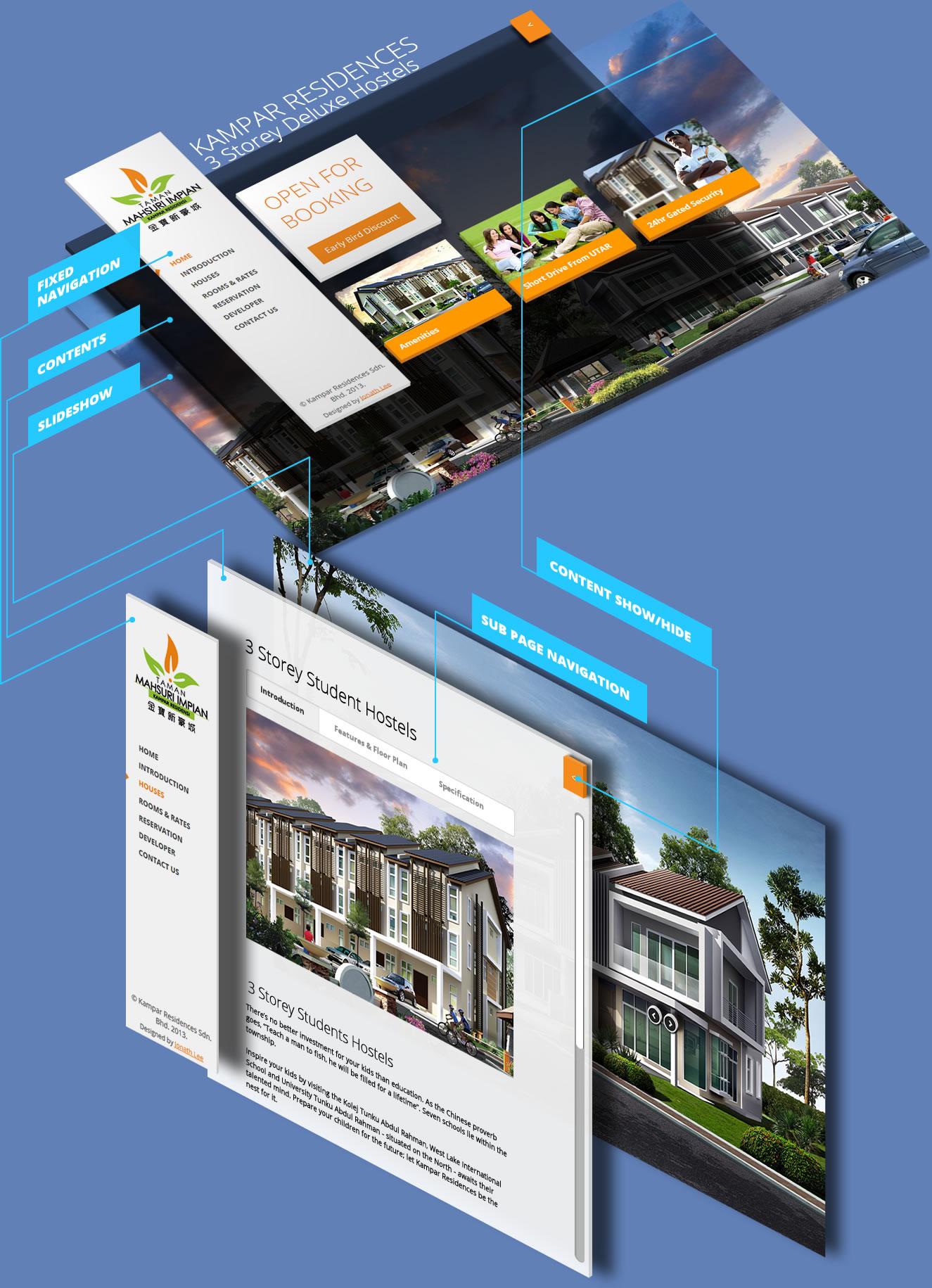 isometric Website Design Kampar