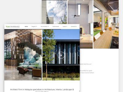 Architect Website Malaysia