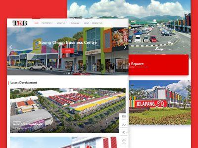Properties Developer Website Design