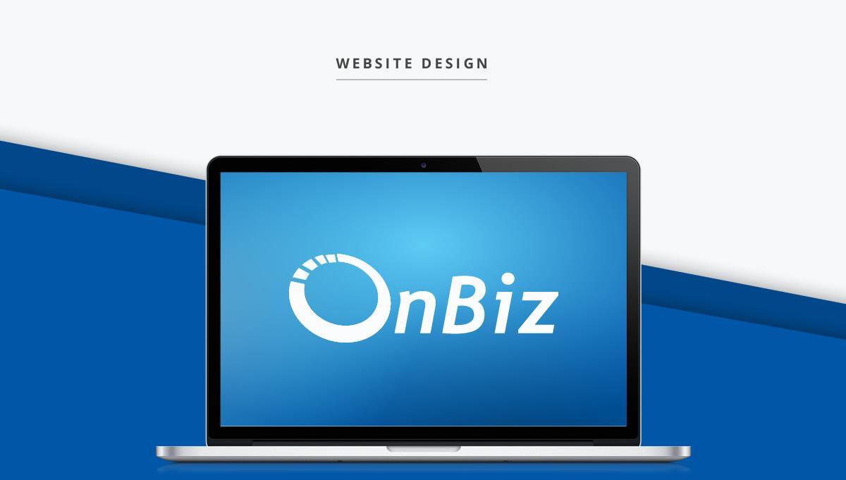 OnBiz website design