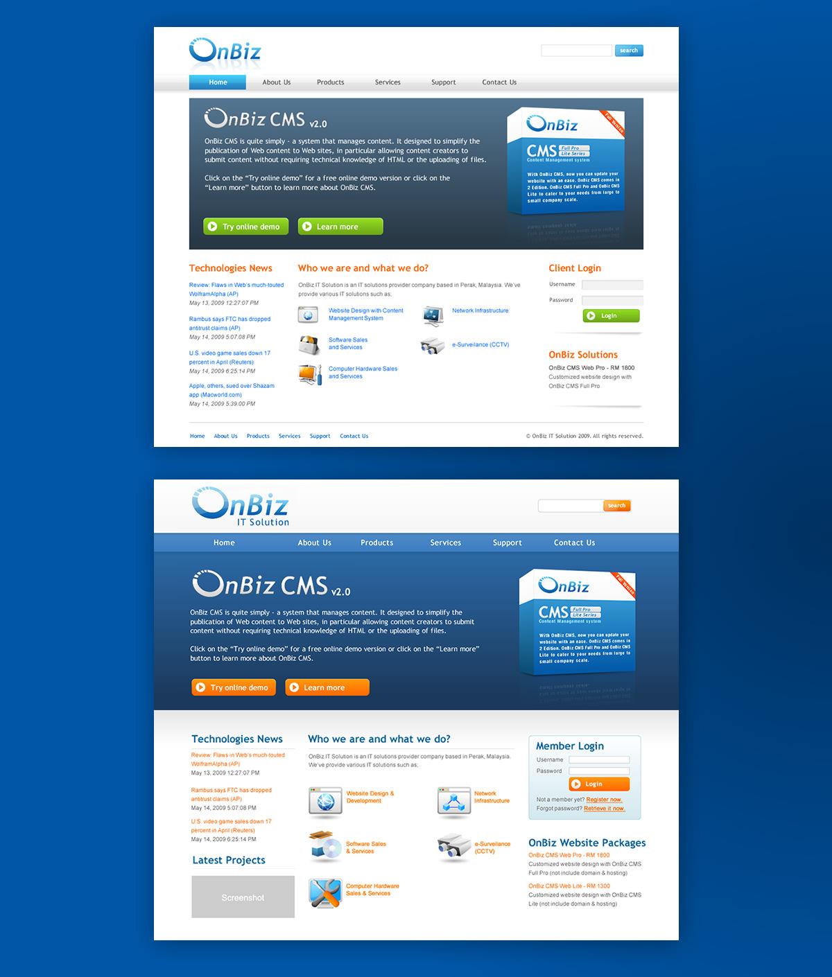 website-layout-design-for-onbiz