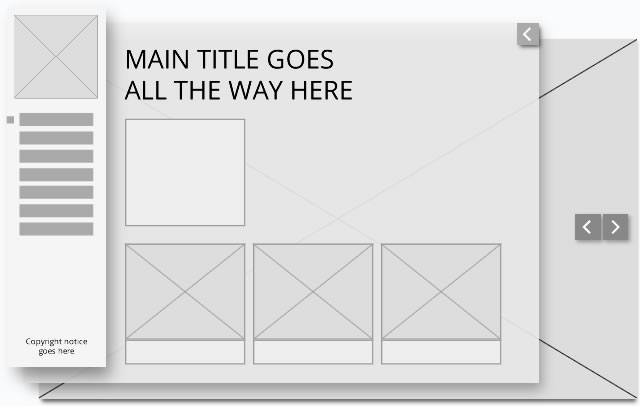 website layout wireframe 2