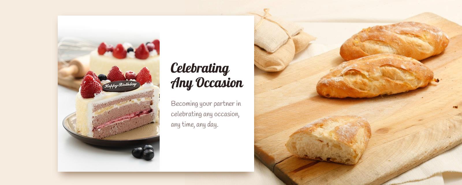 Bakery & patisserie website design Malaysia